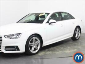 image for 2018 Audi A4 2.0 TDI Ultra 190 S Line 4dr [Leather-Alc] Saloon Diesel Manual