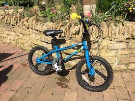 Boys apollo bike 16 inch wheels age 3-5
