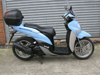 Yamaha HW 125 XENTER scooter 2013 13 reg