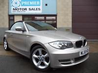 2009 (59) BMW 1 SERIES 118i SE CONVERTIBLE, 1 OWNER FROM NEW, ONLY 29,000 MILES!