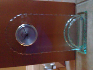 Brand new in box decorative tall glass clock London Ontario image 6
