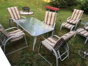 Large patio set