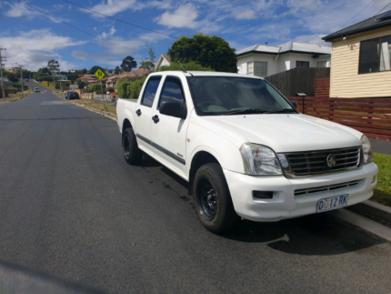 2005 holden rodeo turbo diesel Glenorchy Glenorchy Area Preview
