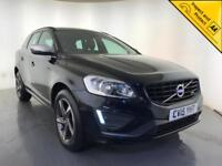 2015 VOLVO XC60 R-DESIGN D4 DIESEL LEATHER INTERIOR 1 OWNER SERVICE HISTORY