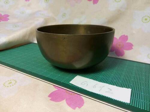 "3.602""Japanese Vintage Buddhist Bell Zen Gong Rin G612 Good Sound"