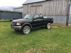 2002 Ford ranger 4x4 $1500 or trade for utility/dump trailer