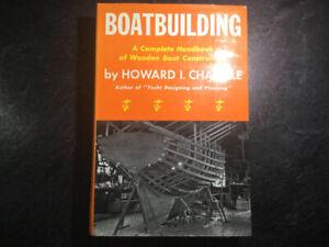 Boatbuilding Handbook Wooden Boat Construction Howard Chapelle