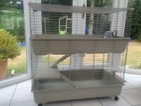 Rabbit Guinea Pig 2 level cage New