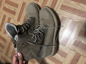 BOTTES DHIVER/ WINTER BOOTS TIMBERLAND, TEDDY FLEECE