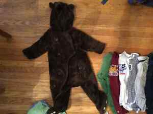 Baby boy winter clothes great shape