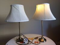 Two (working) table lamps.