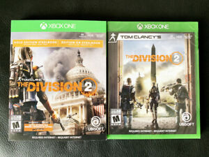 The Division 2 Gold Edition - Xbox One - Neuf Scellé