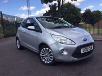 2010 FORD KA ZETEC 1.2 PETROL MANUAL 3DR **LOW MILEAGE**