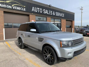 2011 LAND ROVER RANGE ROVER SPORT Supercharged; CLEAN TITLE!