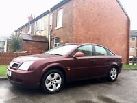 2003 Vauxhall Vecta Club Drives Superb Full Service History. 1 Owner. 2 keys Full MOT.