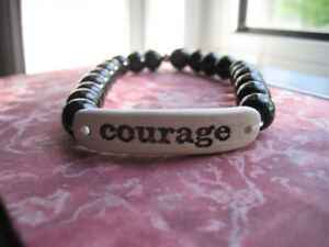 Hand made bracelet from Africa (courage)