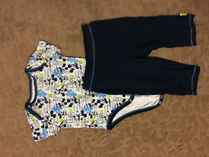 New (tags removed) Disney Mickey Mouse outfit