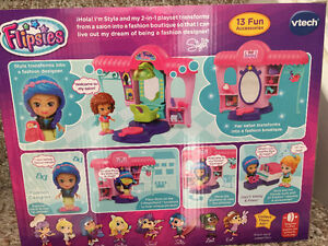 New! Vtech Flipsies Styla's Salon & Fashion Boutique set reduced Kitchener / Waterloo Kitchener Area image 2