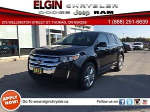 2013 Ford Edge Limited***Nav,B-up Cam,Leather,Low Kms***