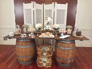 Wine or Whiskey Barrels to Rent