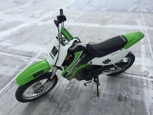 2004 Kawasaki KLX110 Kids Dirt Bike in Excellent Condition