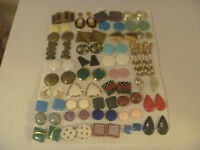 Plastic Sheet With 38 Pairs Of Earrings