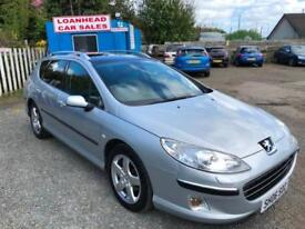 Peugeot 407 SW 2.0HDi 136 auto 2005MY Executive