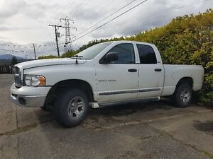 2002 Dodge Power Ram 1500 SLT 4x4 Pickup Truck