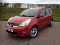 2009 NISSAN NOTE ACCENTA 1.5DCI - 57K MILES - F.S.H - GREAT SPEC - £30 ROAD TAX - 3 MONTHS WARRANTY