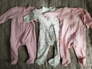 7 sleepers for baby girl