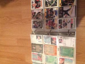 Collection de 405 carte de hockey