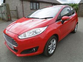 2014 Ford Fiesta 1.25 82 Zetec 3dr 3 door Hatchback
