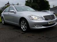 Mercedes-Benz s class 320 cdi auto saloon silver 2006 px and finance welcome