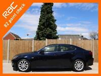 2007 Lexus IS IS250 2.5 SE-L 6 Speed Auto Sat Nav Rear Cam Bluetooth Full Leathe