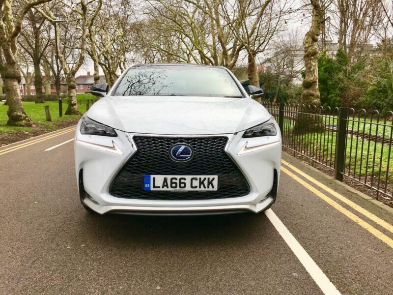 lexus nx 300h 2 5 197bhp 4wd sunroof e cvt 2017 f sport automatic in barking london