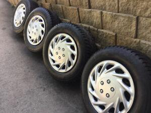 4 pneus hiverr 245/65r17 Général Altimax Artic/ Ford Explorer