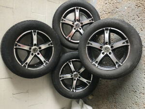 4 mags rims jantes universelle 16po 5x114.3