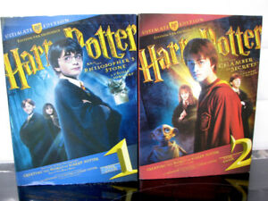 DVD Harry Potter Ed. par Excellence  Année 1 & 2
