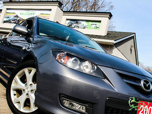 '07 Mazda 3 GT Sport! Roof+Leather+Spoiler! MINT! Only $62/Pmts!