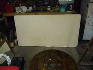 large rectangle table vintage top solid drawer London Ontario image 5