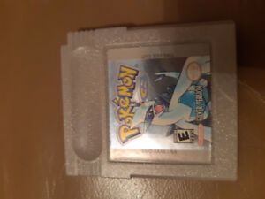 Gameboy (game boy) color with Pokemon Silver game