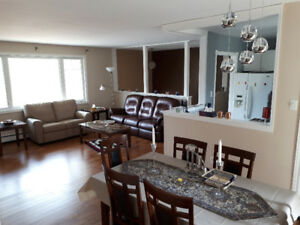 3 bedroom furnished Quispamsis house.
