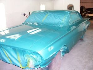 Auto body repairs and restorations