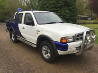 FORD RANGER WORLD RALLY EDITION MARTIN WRC VERY RARE PICKUP XLT