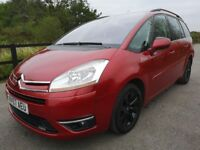 Citroen C4 PICASSO 7 EGS EXCLUSIVE 16V (red) 2007