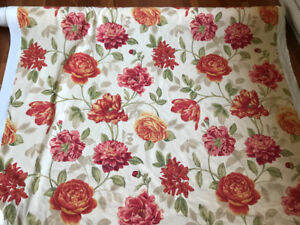 13 meter roll cotton  Waverly fabric for sale