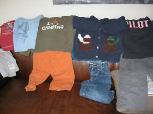 Boys clothing size 4 (15 pieces)
