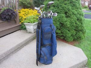 Men's Left Hand 12-pc Golf Clubs Set (Wilson Aggressor 2000)