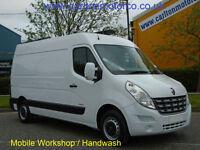 2011/61 Renault Master MM35dCi 125ps [ Mobile Workshop ] Mwb Medium roof van Fwd