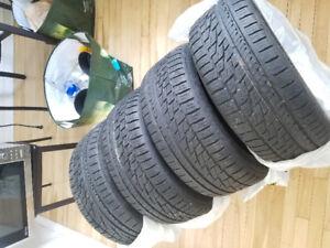 FALKEN - ZIEX ZE950 A/S 235/45/17 all season performance tires.